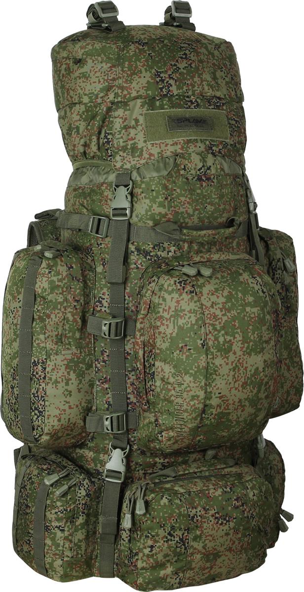 Рюкзак туристический Сплав Defender, цвет: зеленый, 95 л. 50248985024898Многофункциональный рюкзак с разнообразными внешними карманами. Съемные, регулируемые по высоте лямки. Большая ширина, анатомический силуэт. Два слоя пены и сетка Airmesh для мягкости и вентиляции. Верхние оттяжки. Ячейки PALS для крепления подсумков выполнены методом лазерной резки в усиленной ткани, что обеспечивает лямкам тонкий профиль и плоскую поверхность, не мешая прикладке оружия. Cпинка рюкзака благодаря многослойной структуре имеет высокую жесткость и обеспечивает отличную вентиляцию. Внутри вертикальные карманы для съемных лат. Нижний вход в основной объем, с внутренней перегородкой на молнии. Боковые стяжки могут проходить как под боковыми карманами, так и поверх них. На поверхности этих карманов петли для продевания штатных или дополнительных стяжек.Нижние боковые карманы по 1,4 л каждый с кармашками-упорами для длинномерных предметов. Верхний фронтальный карман с двумя отделениями: 5,5 л. Нижний фронтальный карман: 2,5 л. Дополнительные съемные стяжки для крепления груза на дне и клапане.Три ручки для погрузки/разгрузки. Совместимость с питьевыми системами – внутри имеется отделение для гидратора, петли для подвеса и клапан для вывода трубки. Питьевая система не входит в комплект! Съемный регулируемый по высоте клапан, внешнее отделение на молнии и скрытое отделение под клапаном. Съемный широкий пояс. Боковые оттяжки, ячейки MOLLE для навески подсумков. Объем: 95 л.Вес: 2,8 кг.Основное отделение: 34 x 75 x 22 см.Верхний передний карман: 20 x 29 x 15 см.Нижний передний карман: 24 x 17 x 6 см.Верхний боковой карман (2 шт): 16 x 31,5 x 9 см.Нижний боковой карман (2 шт): 18 x 20 x 6 см.Карман на клапане: 29 x 20 x 11 см.Основная ткань: Polyester 600D.Фурнитура: Duraflex.