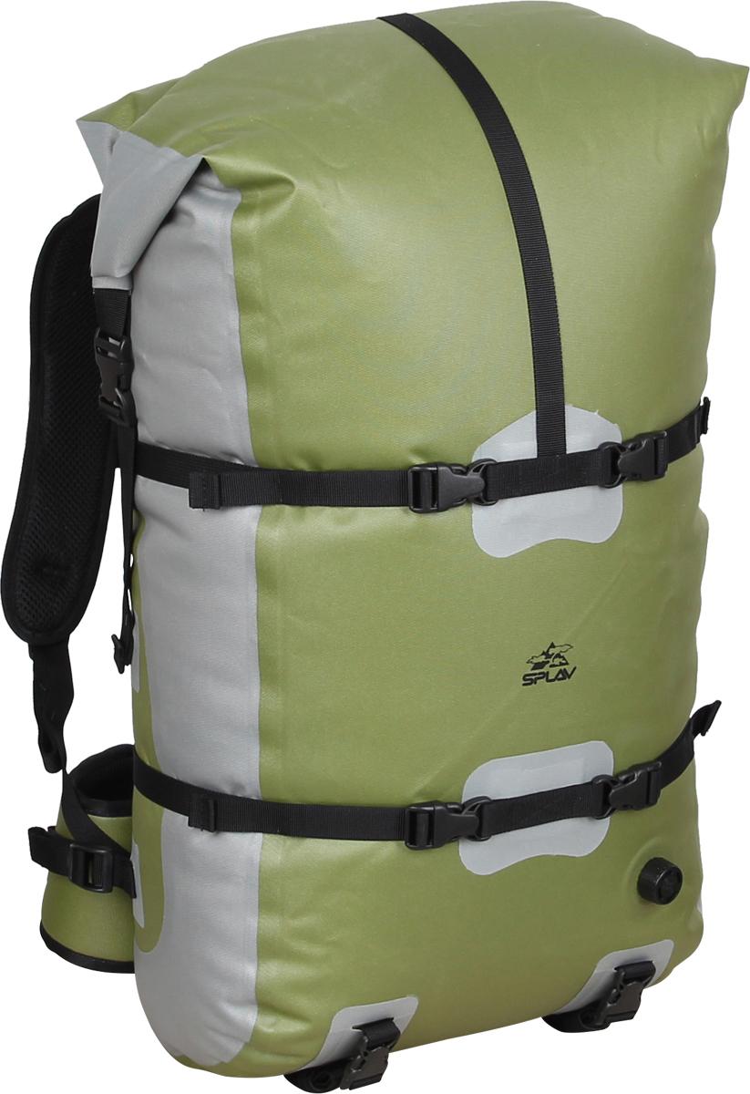 Герморюкзак Сплав Canyon, цвет: зеленый, 40 л. 50437905043790Легкий небольшой, полностью герметичный, рюкзак. Рюкзак изготовлен по сварной технологии. Все швы герметичны. Вход в основной объем закрывается скруткой, как на классических гермомешках, что обеспечивает полную герметичность рюкзака.Формованная спинка обеспечивает хорошую вентиляцию при переноске рюкзака и практически не впитывает влагу ввиду отсутствия элементов из поролона Рюкзак с легкостью можно использовать в качестве внешней гермоупаковки во время сплава. Рюкзак имеет воздушный клапан для стравливания лишнего воздуха. Объем: 40 л. Вес: 1070 г. Размеры: 30 x 25 x 65 см. Материал: Nylon 420D TPU. Фурнитура: Duraflex.