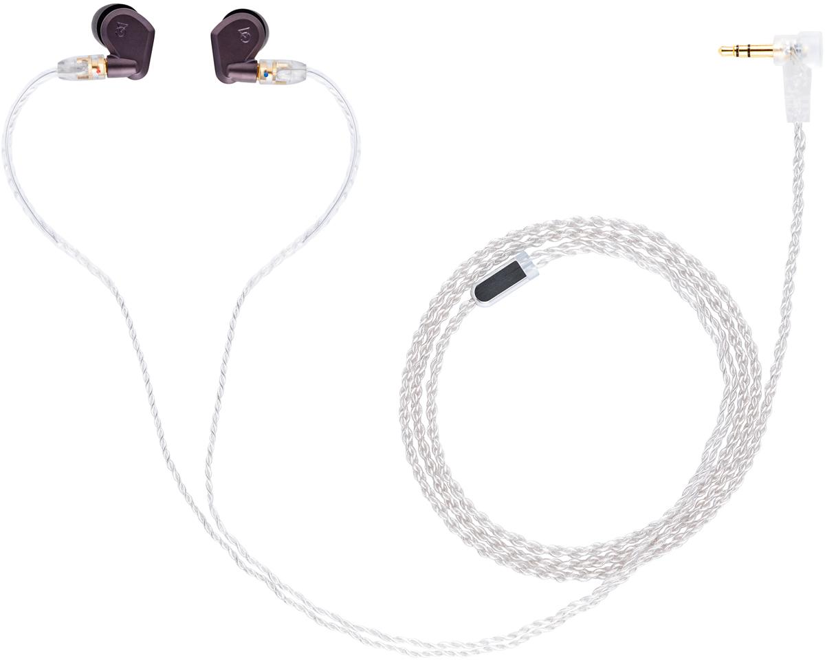 Campfire Audio Lyra II, Gray Purple наушники15119312Первые в мире вставные динамические наушники с цельнолитым металлическим корпусом. Невероятно живое и натуральное динамическое звучание. Первый в мире 8,5-миллиметровый бериллиевый динамический драйвер. Первый в мире цельнолитой металлический корпус. Сверхпрочное покрытие корпуса, нанесённое методом вакуумного напыления. Премиальный съёмный кабель с MMCX-коннекторами.