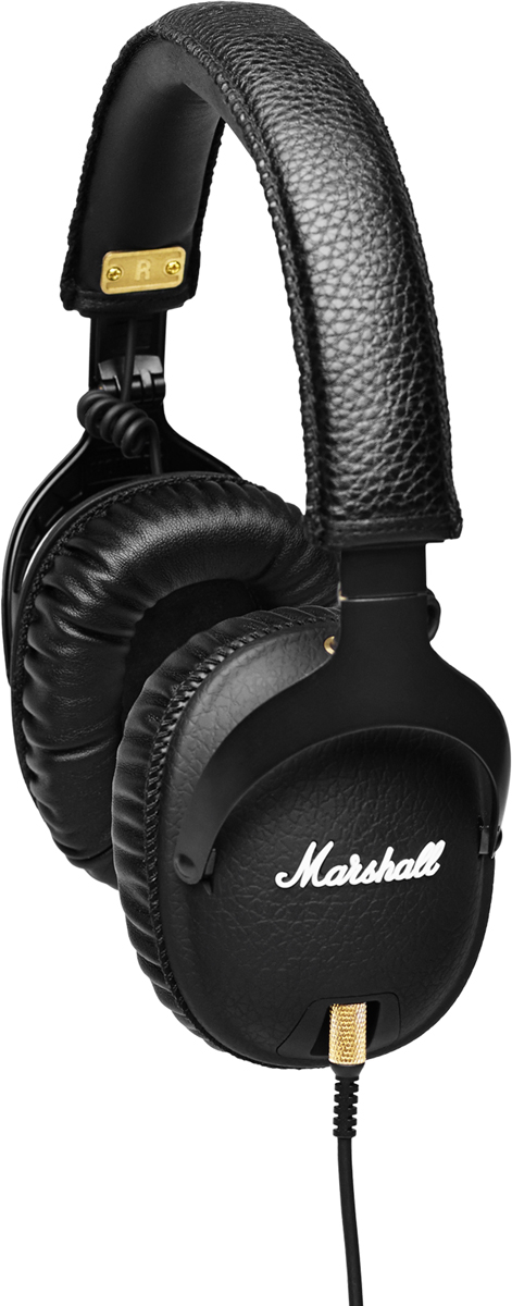 Marshall Monitor Black, Black наушники - Наушники