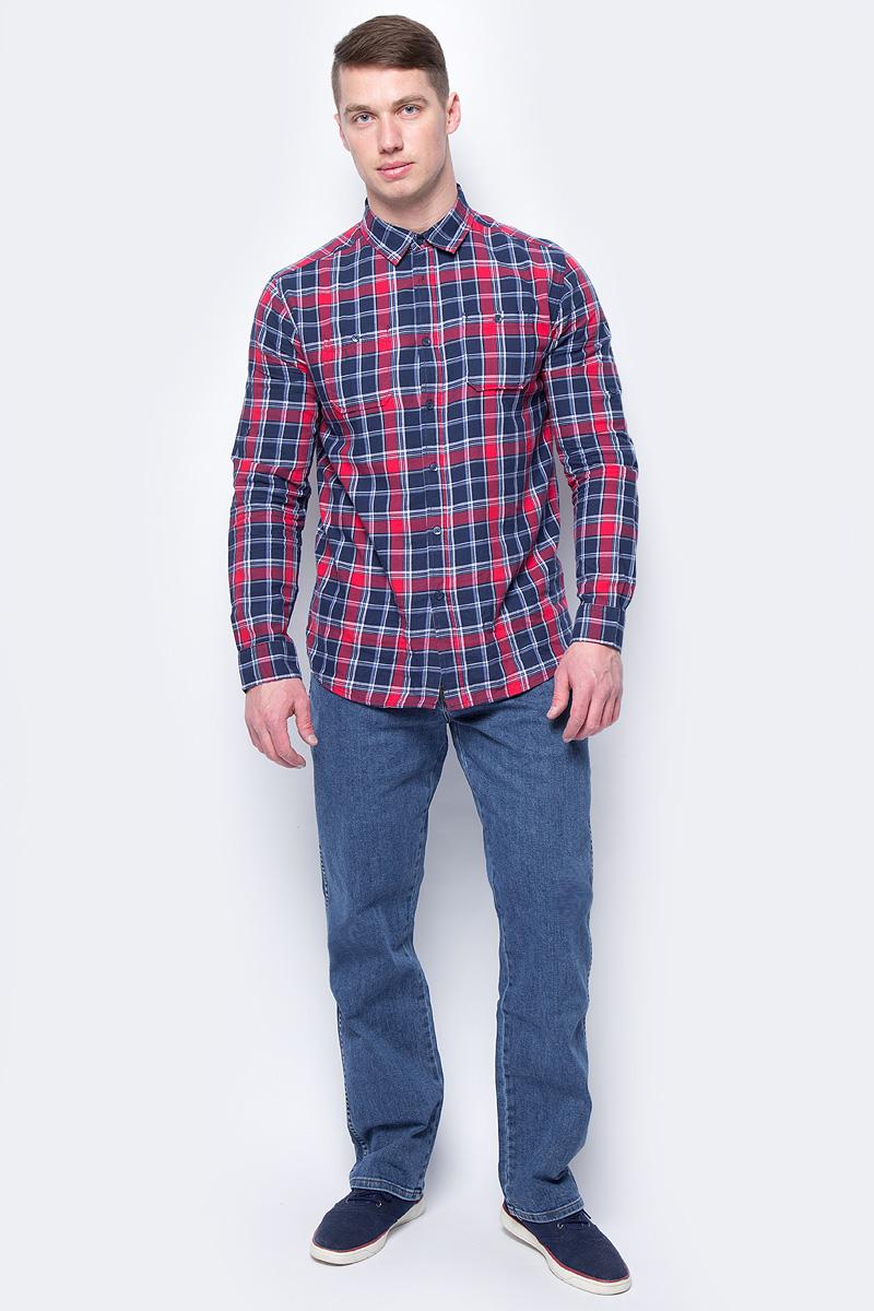 Джинсы мужские Wrangler, цвет: синий. W1213301034. Размер: 38-34(54-34) ботинки wrangler wrangler wr224amlir98