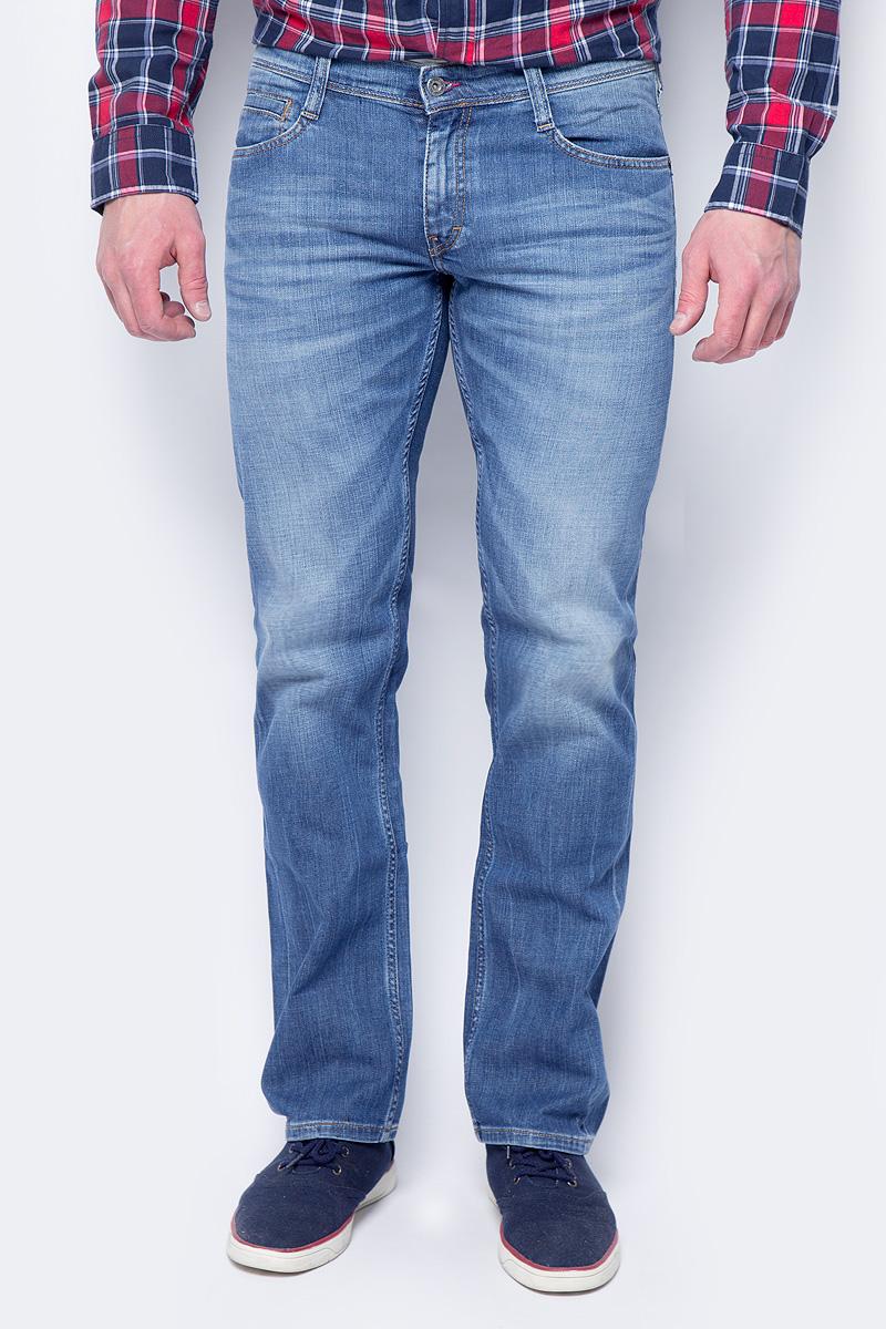 Джинсы мужские Mustang Oregon Straight, цвет: голубой. 3115-5111-583. Размер 38-32 (54-32)
