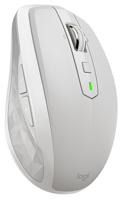Logitech MX Anywhere 2S, Light Grey мышь беспроводная910-005155Встречайте компактную и мощную мышь Logitech MX Anywhere 2S, которая выведет вас на новый уровень продуктивности. С этой мышью вы можете работать где угодно - в кафе, салоне самолета, гостиничном номере или на выездном заседании. При этом можно использовать до трех компьютеров одновременно, перемещая между ними данные.Поддержка технологии Logitech Flow позволяет использовать весь потенциал мыши MX Anywhere 2S, легко и просто работая на нескольких компьютерах одновременно. Перемещайте курсор мыши между экранами трех компьютеров и копируйте нужные фрагменты текста, изображения и файлы с одного устройства на другое.Модель MX Anywhere 2S предназначена для пользователей, которым приходится работать в самых разных местах. В ней используется принципиально новый датчик Darkfield с чувствительностью 4000 точек на дюйм. Он обеспечивает безупречное отслеживание почти на всех поверхностях, даже на стекле.Быстрой подзарядки (всего 3 минуты), во время которой можно продолжать пользоваться устройством, хватит на целый день работы от батареи. А полного заряда устройства хватит на 70 дней.Мгновенно пролистывайте объемные документы и веб-страницы одним поворотом колесика. Если нужна более точная прокрутка, просто нажмите колесико и перейдите в режим пошаговой прокрутки.Подключайте мышь MX Anywhere 2S, используя поставляемый в комплекте приемник Logitech Unifying или энергосберегающую технологию Bluetooth. Благодаря технологии Logitech Easy-Switch можно установить сопряжение с несколькими устройствами (до трех) и легко переключаться между ними одним нажатием кнопки.