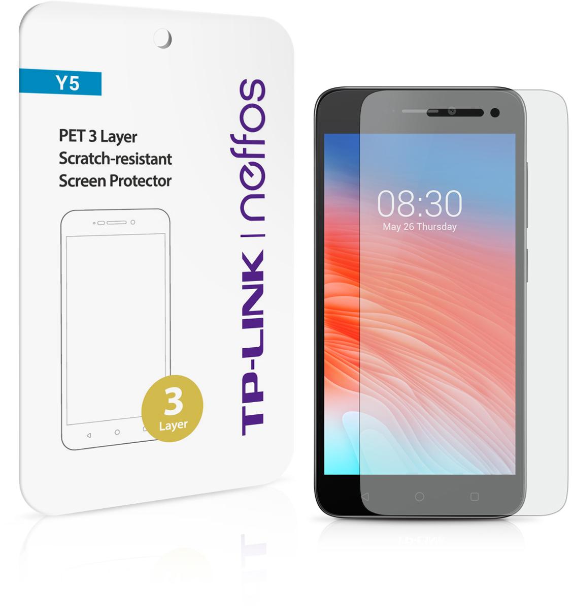 Neffos защитная пленка 3-слойная для Neffos Y5 для tp link neffos y5 дело тпу дело lovphone тпу телефон дело прикрыть tp связь neffos y5