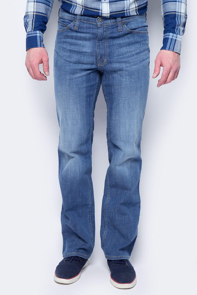 Джинсы мужские Mustang Tramper, цвет: синий. 0111-5387-535. Размер 38-32 (54-32) джинсы мужские mustang tramper цвет голубой 1005225 5000 882 размер 38 32 54 32