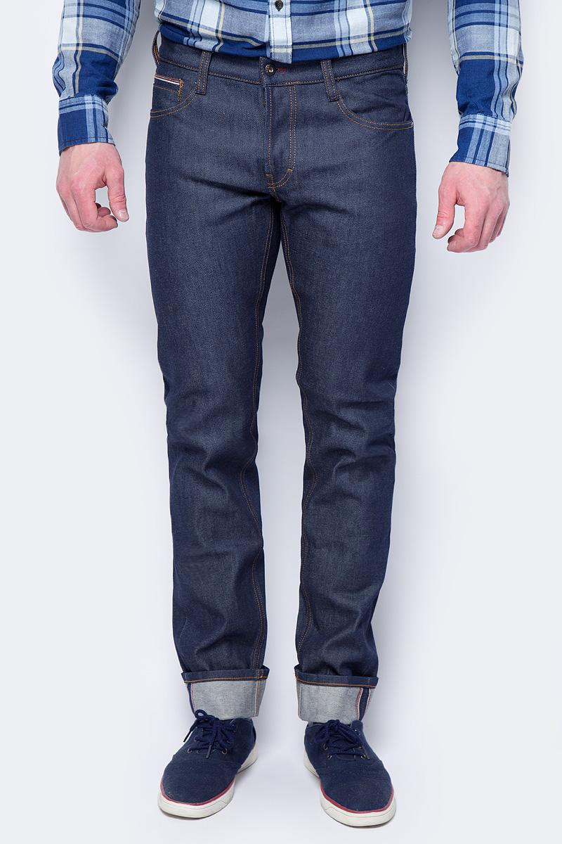 Джинсы мужские Mustang Oregon Tapered S, цвет: темно-синий. 3118-5679-099. Размер 36-34 (52-34) джинсы мужские mustang oregon tapered цвет черный 3116 5764 088 размер 36 32 52 32
