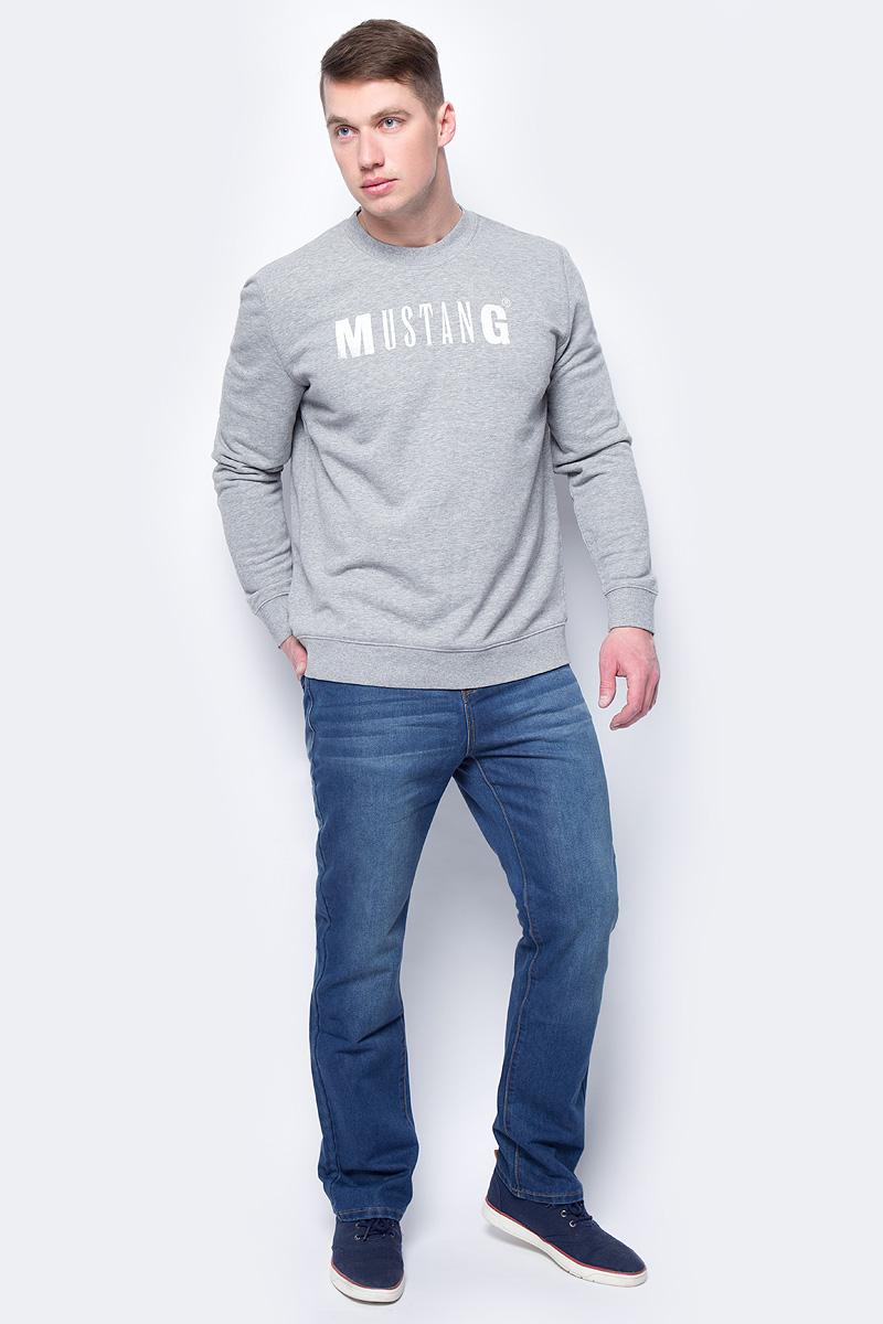 Брюки мужские Sela, цвет: синий джинс. PJ-235/029-8172. Размер 40-34 (56-34)PJ-235/029-8172