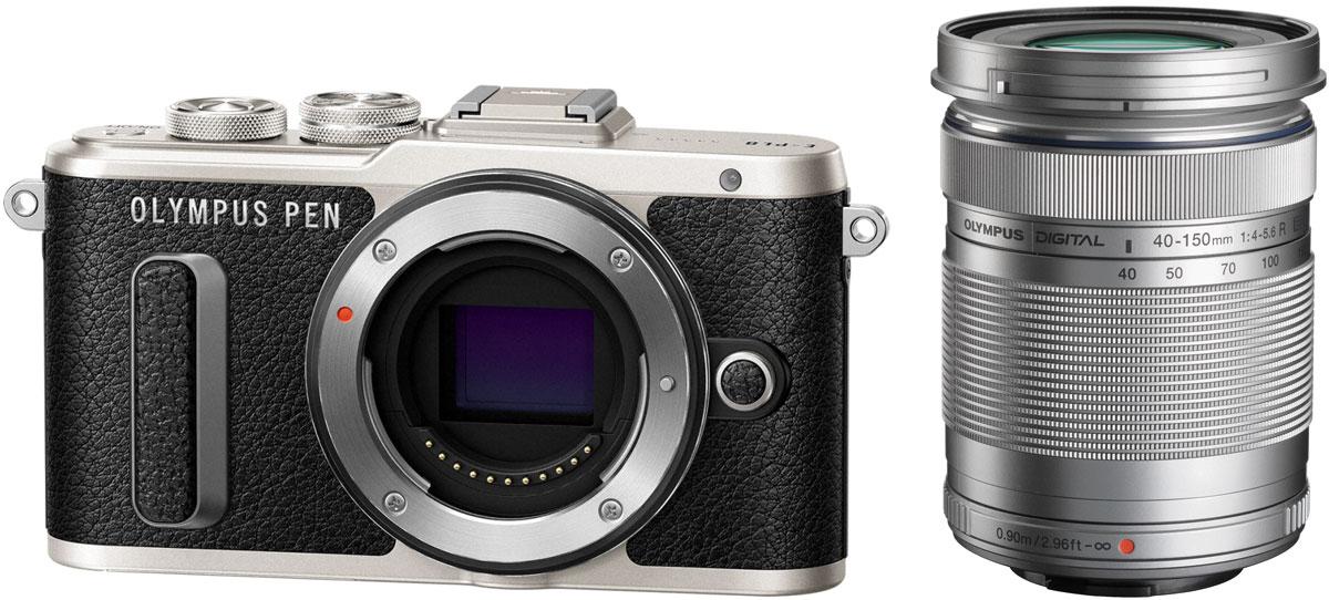 Olympus PEN E-PL8 Kit 40-150 ED, Black цифровая фотокамера - Цифровые фотоаппараты