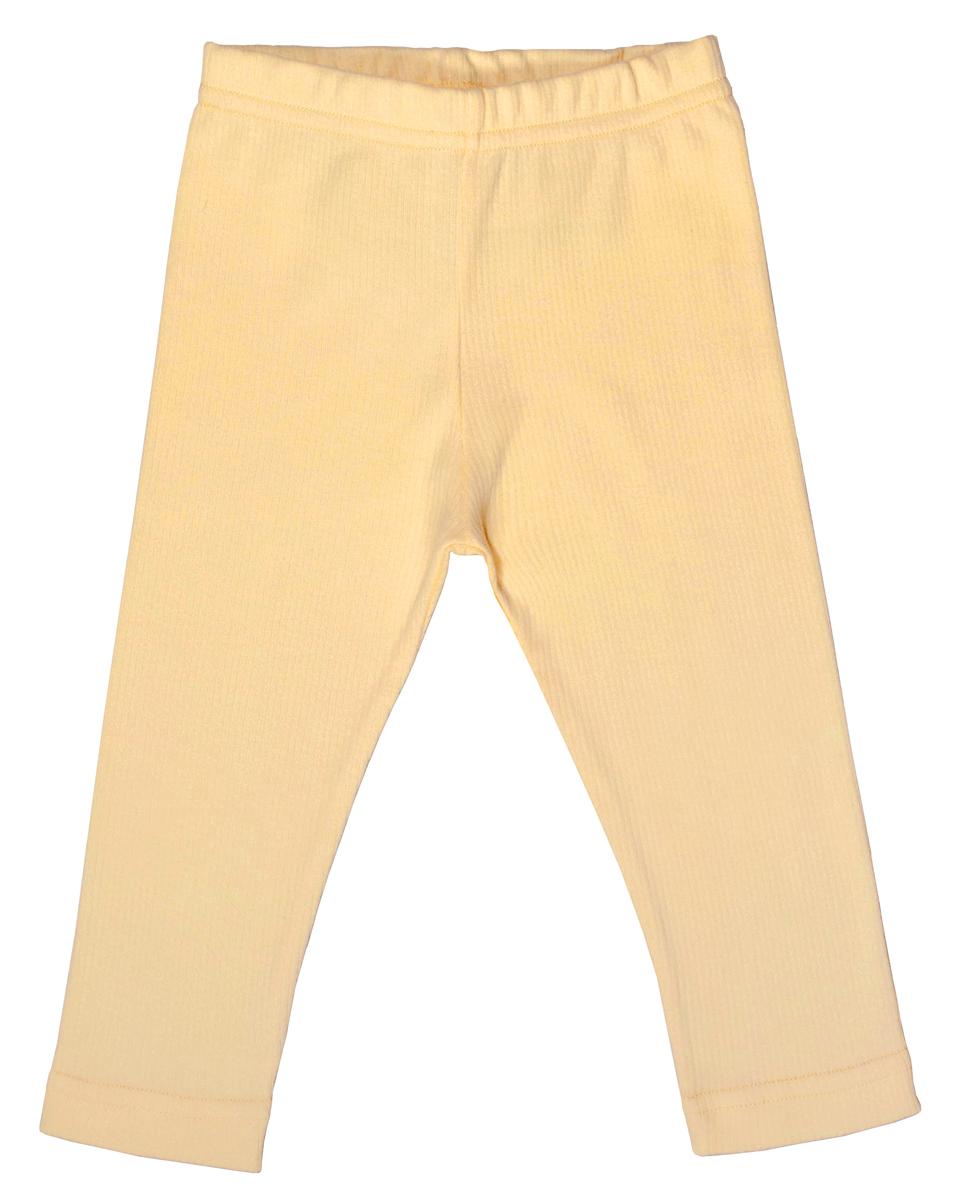 Брюки для девочки Мамуляндия Мороженки, цвет: желтый. 17-1205. Размер 86