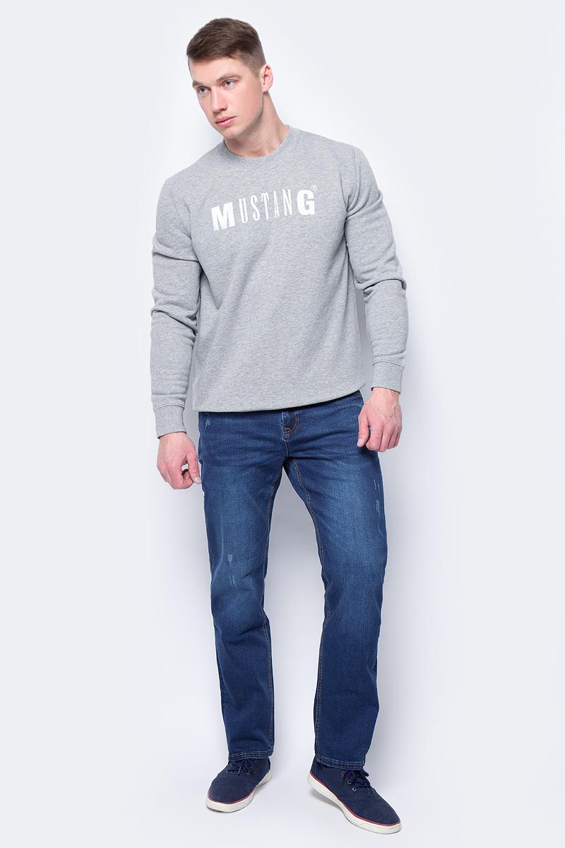 Брюки мужские Sela, цвет: синий джинс. PJ-235/1101-8172. Размер 36-32 (52-32)