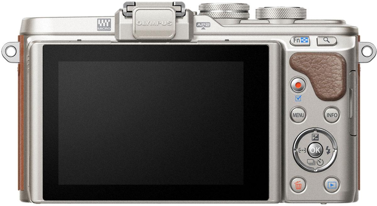 Olympus PEN E-PL8 Kit 40-150 ED, Brownцифровая фотокамера