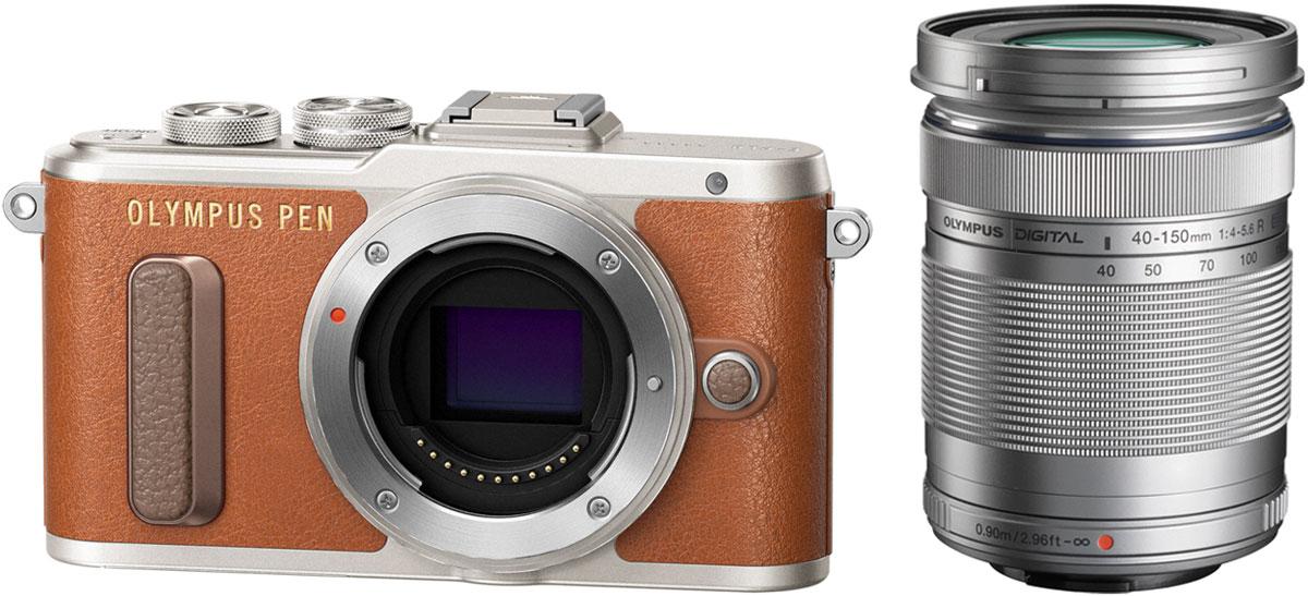 Olympus PEN E-PL8 Kit 40-150 ED, Brown цифровая фотокамера - Цифровые фотоаппараты