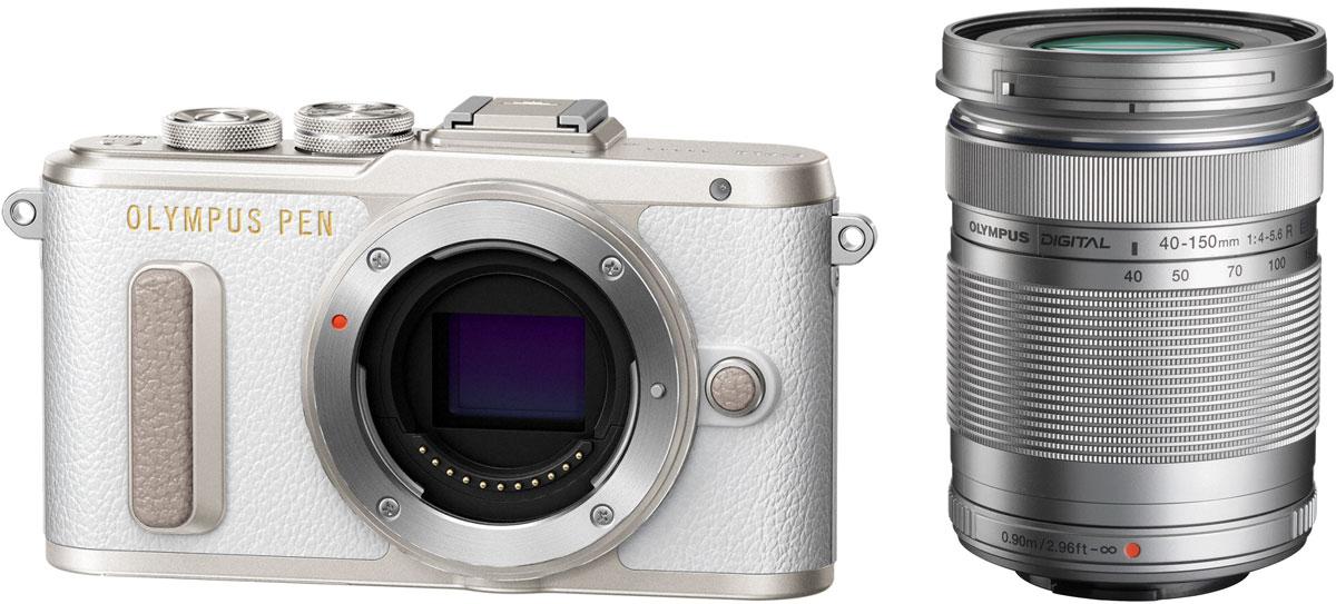 Olympus PEN E-PL8 Kit 40-150 ED, White цифровая фотокамера - Цифровые фотоаппараты