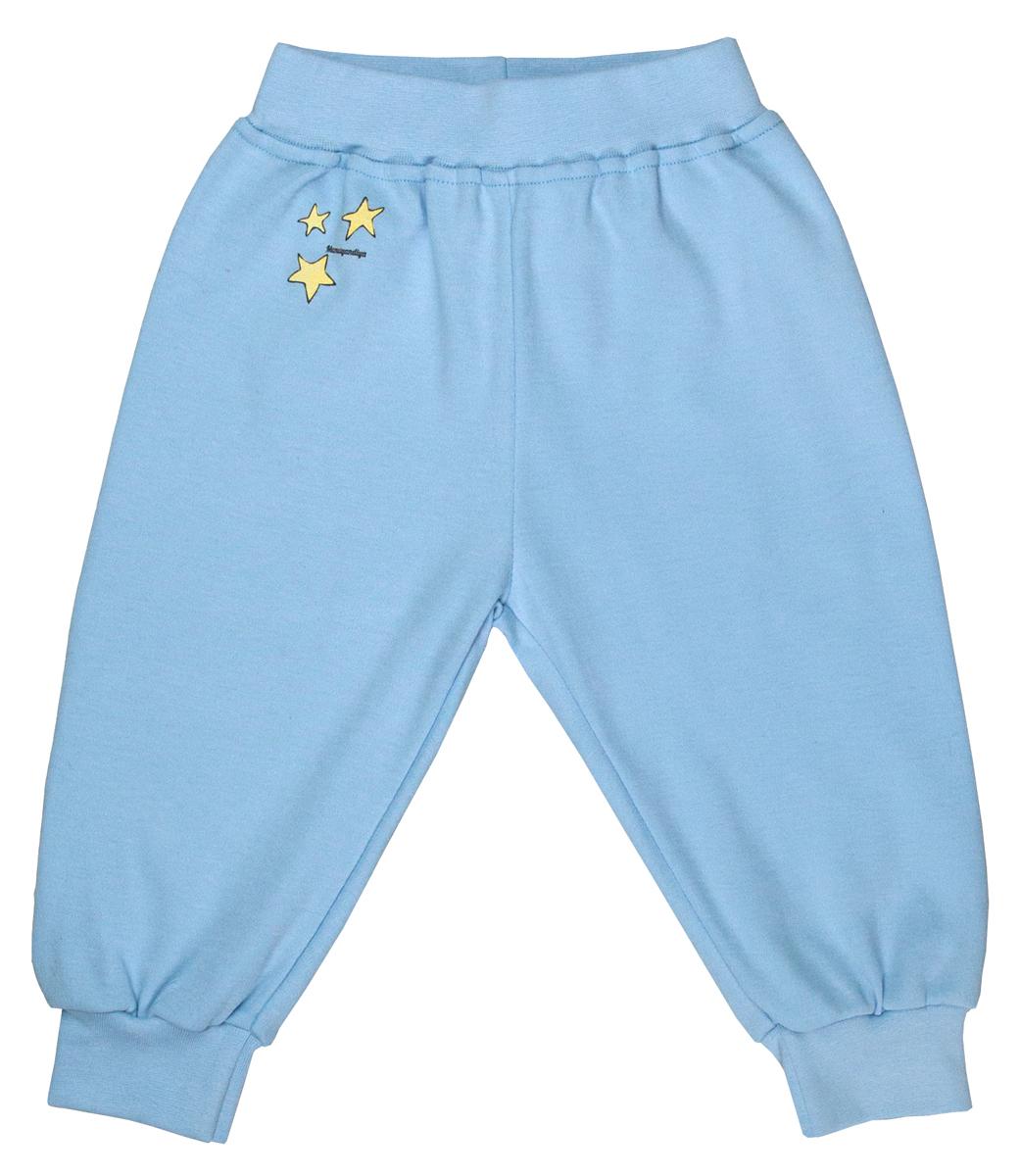 Брюки для мальчика Мамуляндия Сказочный сон, цвет: голубой. 17-1709. Размер 86 кофта для мальчика мамуляндия сказочный сон цвет голубой 17 1704 размер 86