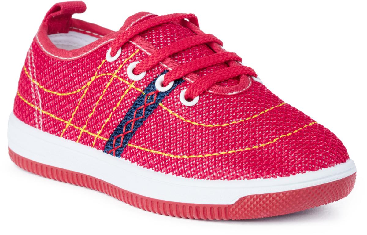 Кроссовки для мальчика PlayToday, цвет: красный. 181253. Размер 30181253Кроссовки на шнуровке PlayToday выполнены из стеганого текстиля. Подкладка изготовлена из натурального хлопка. Легкая подошва обеспечивает максимальный комфорт.