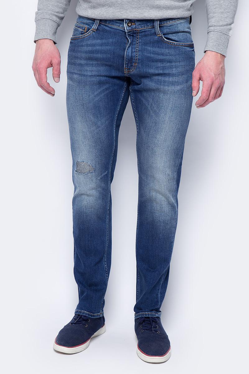 Джинсы мужские Mustang Oregon Tapered, цвет: синий. 1005235-5000-884. Размер 38-32 (54-32) джинсы мужские mustang oregon tapered цвет черный 3116 5764 088 размер 36 32 52 32