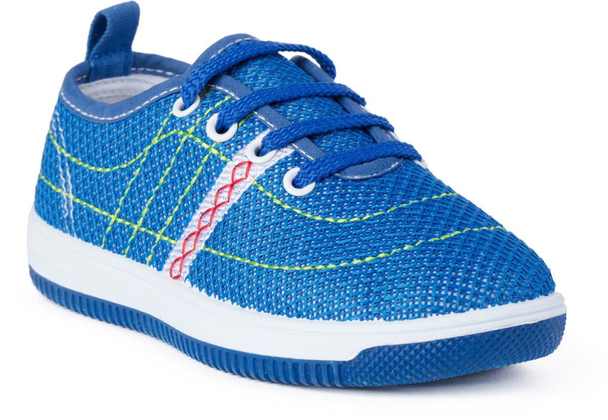 Кроссовки для девочки PlayToday, цвет: синий. 182249. Размер 27182249Текстильные полуботинки для девочек. Материал верха - sandwich mesh. Материал подкладки - текстиль.
