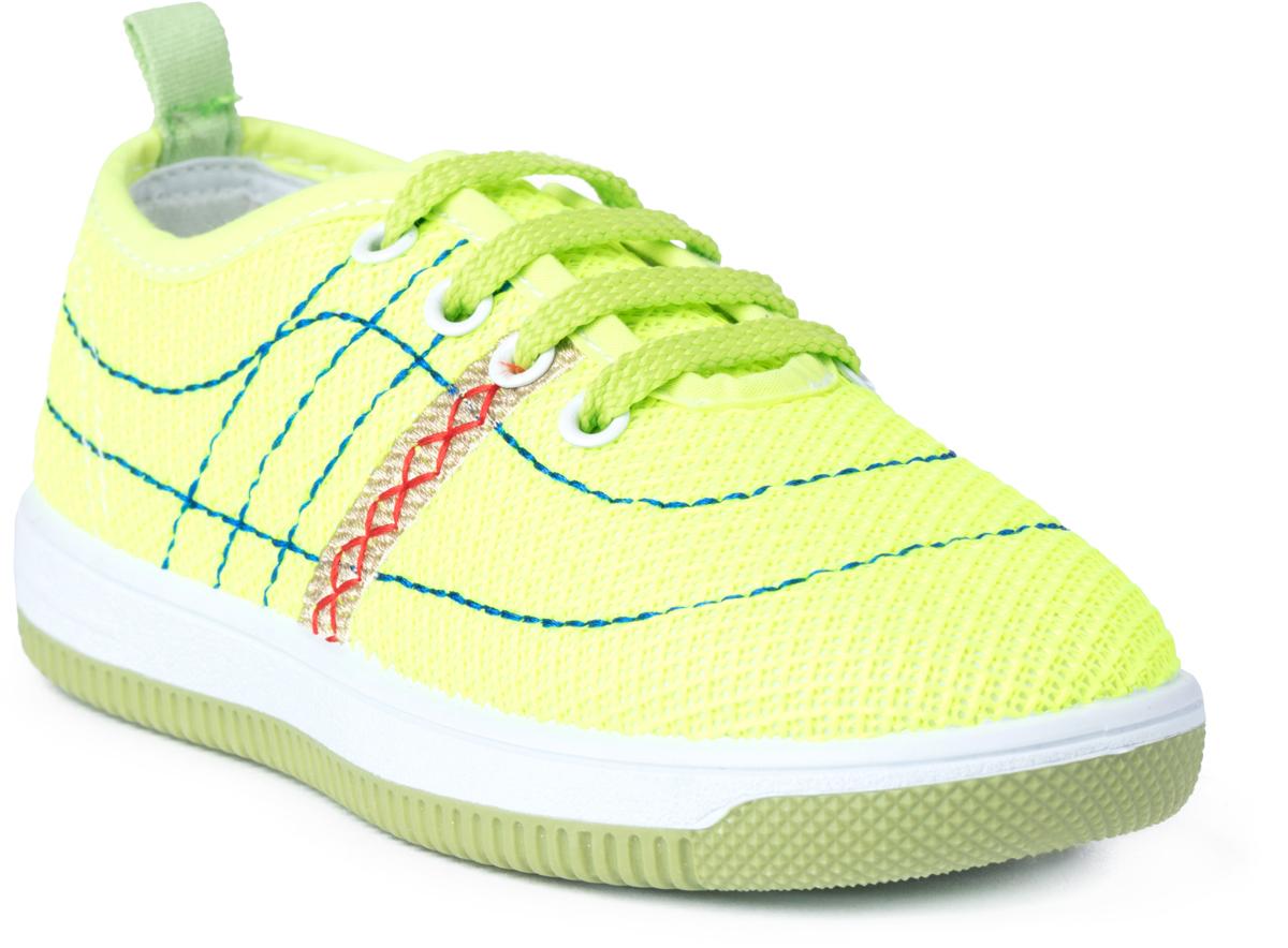 Кроссовки для мальчика PlayToday, цвет: светло-зеленый. 181252. Размер 27181252Полуботинки выполнены из современных материалов. Подкладка из натурального хлопка. Легкая подошва обеспечивает максимальный комфорт.