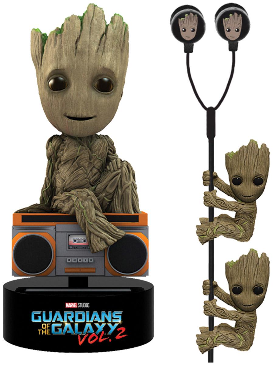 Neca Набор подарочный Guardians of the Galaxy 2 Limited Edition Groot фигурка 15 см наушники держатели проводов guardians team up vol 2