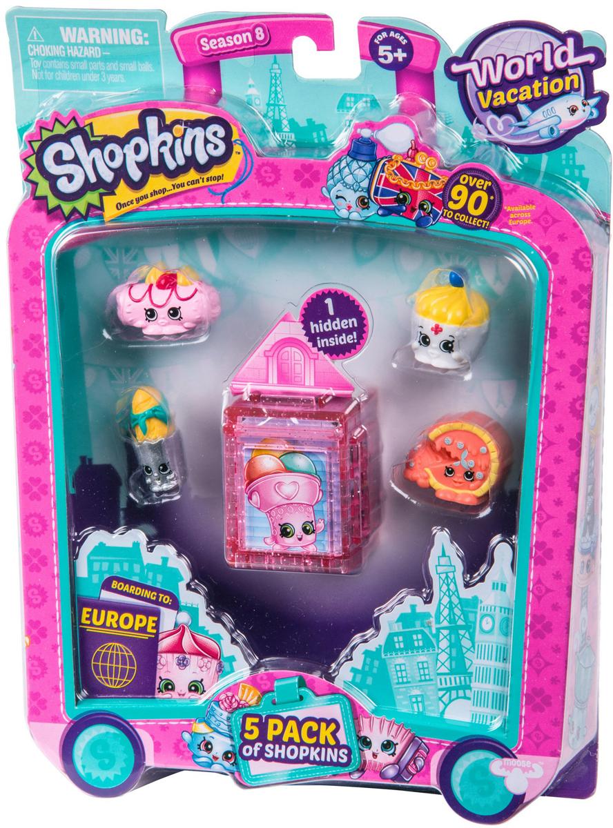 Moose Игровой набор Shopkins Европа 5 фигурок игровые наборы shopkins игровой набор веселая кухня