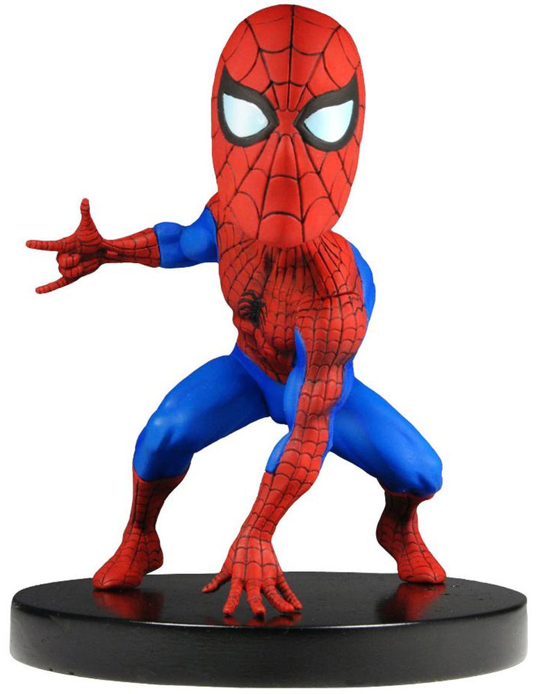 Neca Фигурка Head Knocker Studio Marvel Spider-Man 13 см