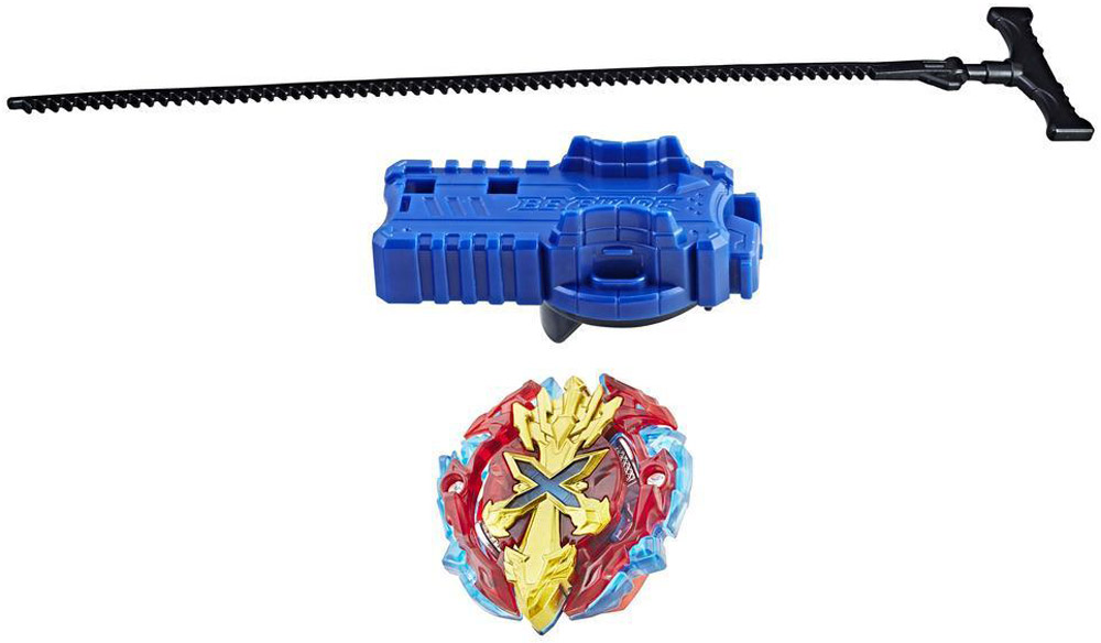 Bey Blade Волчок с пусковым устройством Burst Xcalius X2 цвет голубой красный все цены