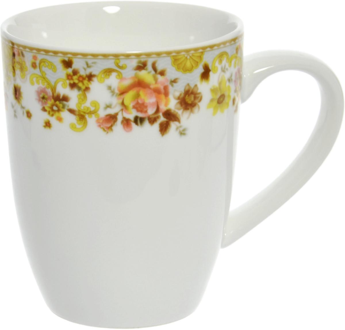 Кружка столовая Nanshan Porcelain Фантазия, цвет: белый, 360 млGNNSFS0117Столовая посуда китайской фабрики Nanshan Porcelain производится с 1991 года. Фабрика имеет ряд международных наград. Более 60% продукции экспортируется в Европу и США. Посуда производства Nanshan Porcelain - это твердый столовый фарфор качества white с оригинальными цветными деколями по весьма демократичным для фарфора ценам. При изготовлении посуды применяются подглазурные деколи, что защищает рисунок от истирания и продлевает срок эксплуатации посуды. Посуда безопасна для здоровья и окружающей среды, не содержит свинец и кадмий. Посуду Nanshan модно использовать в СВЧ и мыть в ПММ.