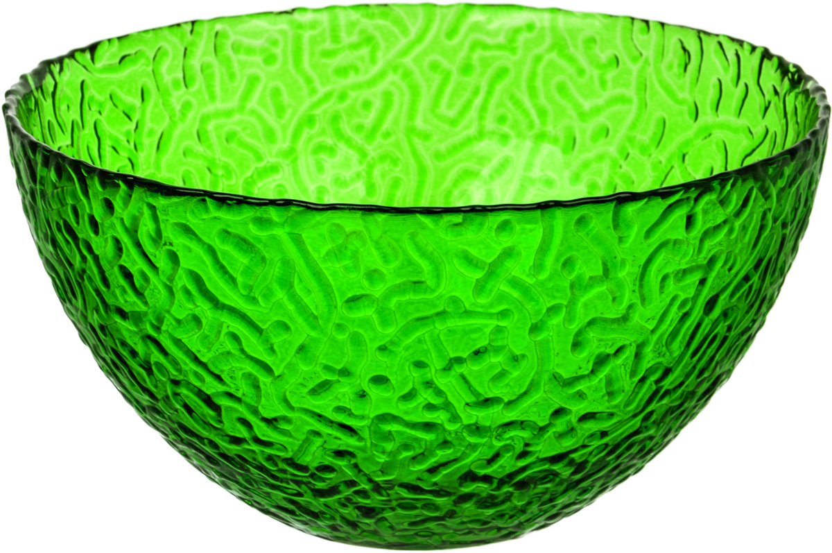 Салатник Nina Glass Ажур, цвет: темно-зеленый, диаметр 12 смNG83-040EСтеклянная посуда Никольского завода светотехнического стекла, известная под торговой маркой NinaGlass, успешно продается в российских магазинах. Продукция выглядит презентабельно, ассортимент весьма широк. Яркие, емкие, приятные тактильно салатники будут шикарно смотреться на обеденном столе. Салатники и блюда предназначены для сервировки стола. Пригодны для ежедневного использования.Цветные салатники и тарелки NinaGlass нельзя использовать в СВЧ и мыть в ПММ.
