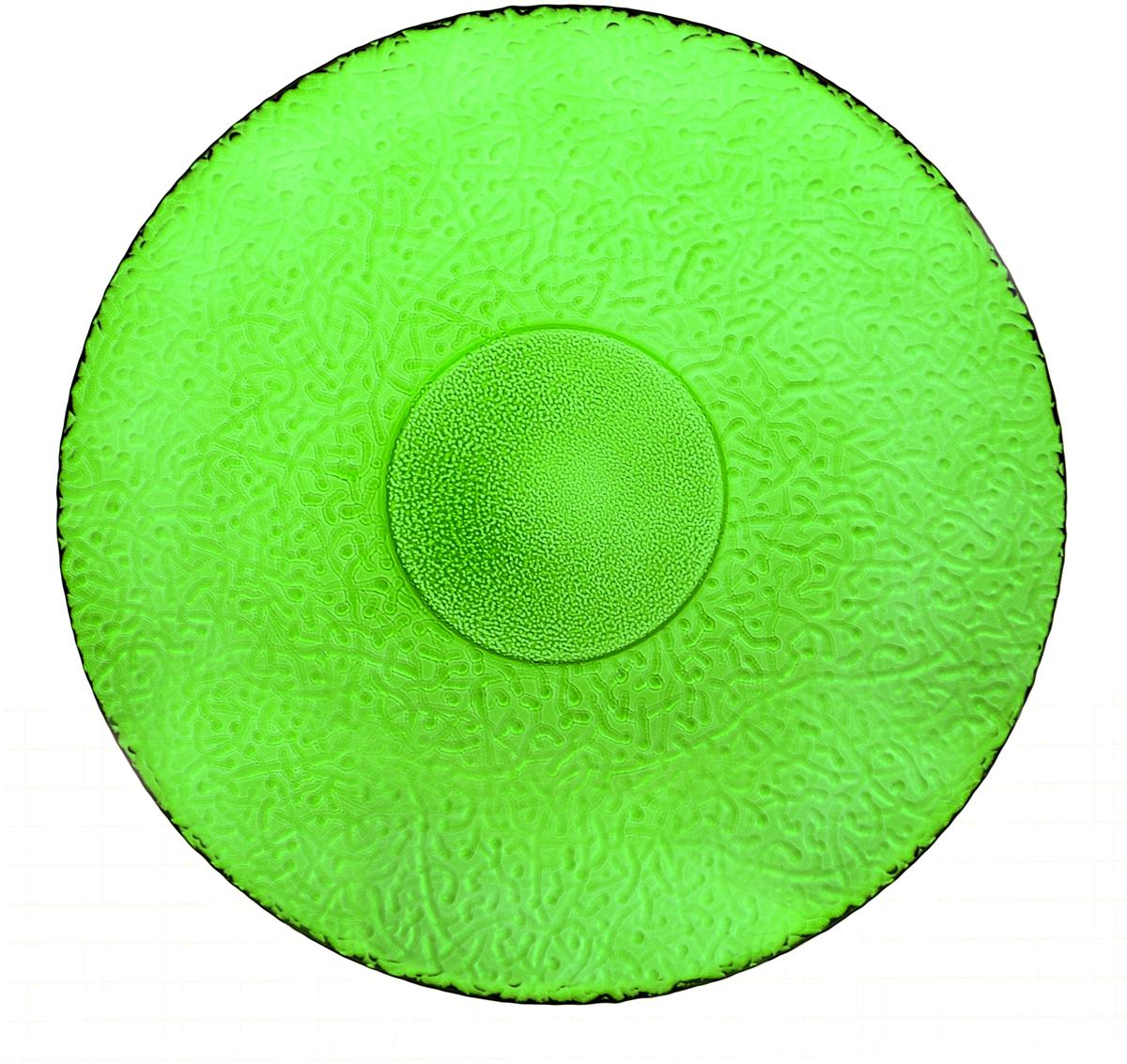 Тарелка Nina Glass Ажур, цвет: зеленый, диаметр 26 смNG83-071GСтеклянная посуда Никольского завода светотехнического стекла, известная под торговой маркой NinaGlass, успешно продается в российских магазинах. Продукция выглядит презентабельно, ассортимент весьма широк. Яркие, емкие, приятные тактильно салатники будут шикарно смотреться на обеденном столе. Салатники и блюда предназначены для сервировки стола. Пригодны для ежедневного использования.Цветные салатники и тарелки NinaGlass нельзя использовать в СВЧ и мыть в ПММ.