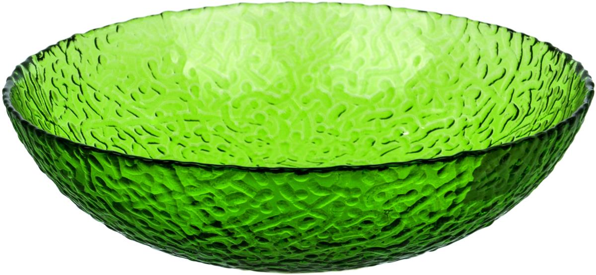 Тарелка Nina Glass Ажур, цвет: зеленый, диаметр 20 смNG83-072GСтеклянная посуда Никольского завода светотехнического стекла, известная под торговой маркой NinaGlass, успешно продается в российских магазинах. Продукция выглядит презентабельно, ассортимент весьма широк. Яркие, емкие, приятные тактильно салатники будут шикарно смотреться на обеденном столе. Салатники и блюда предназначены для сервировки стола. Пригодны для ежедневного использования.Цветные салатники и тарелки NinaGlass нельзя использовать в СВЧ и мыть в ПММ.
