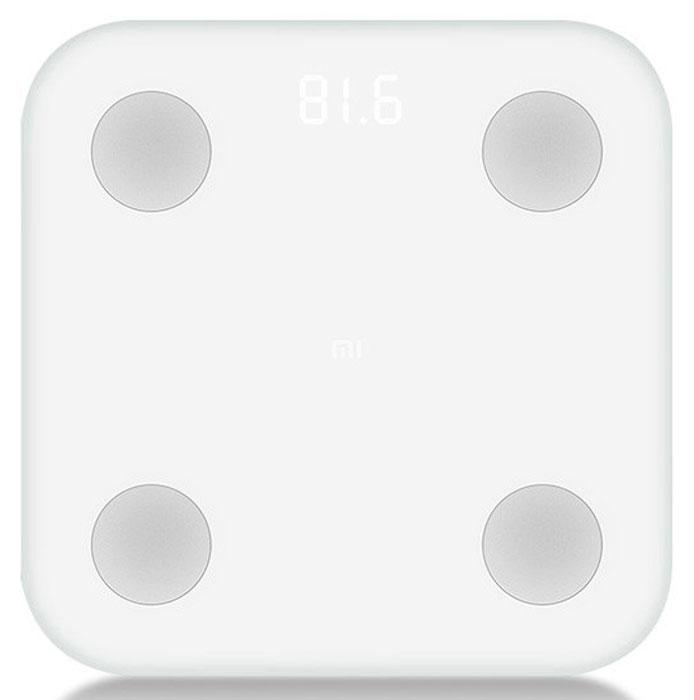Xiaomi Mi Body Composition Scale, White весы напольные - Напольные весы