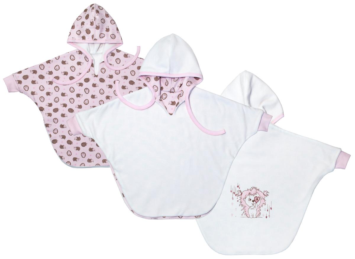 Куртка для девочки Мамуляндия Сказочный сон, цвет: белый, розовый. 17-1905. Размер 86 кофта для мальчика мамуляндия сказочный сон цвет голубой 17 1704 размер 86