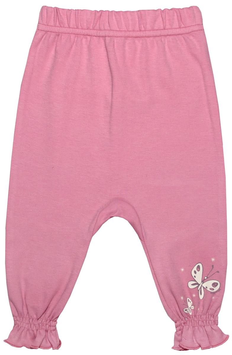 Штанишки для девочки Мамуляндия Прогулка по облакам, цвет: розовый. 17-1401. Размер 86 брюки джинсы и штанишки лапушка штанишки для девочки сердечки