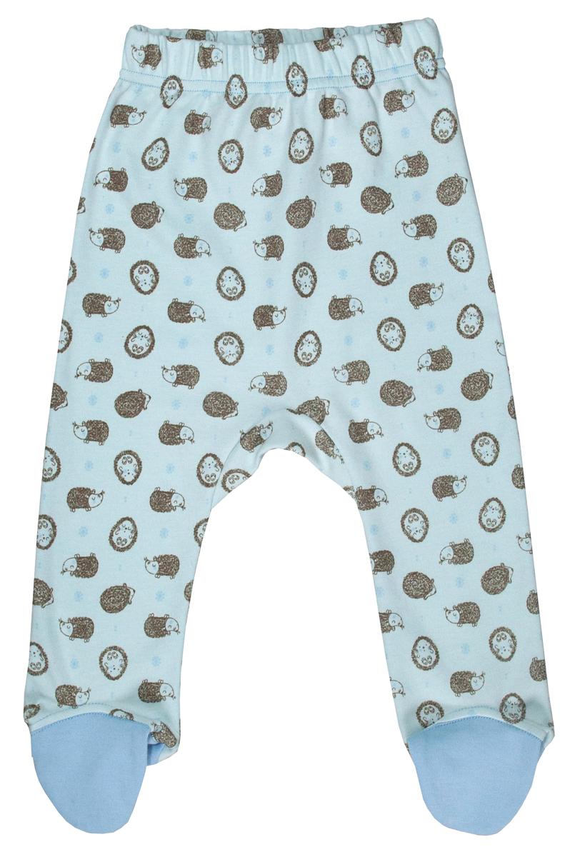 Ползунки для мальчика Мамуляндия Сказочный сон, цвет: голубой. 17-1705. Размер 80 кофта для мальчика мамуляндия сказочный сон цвет голубой 17 1704 размер 86