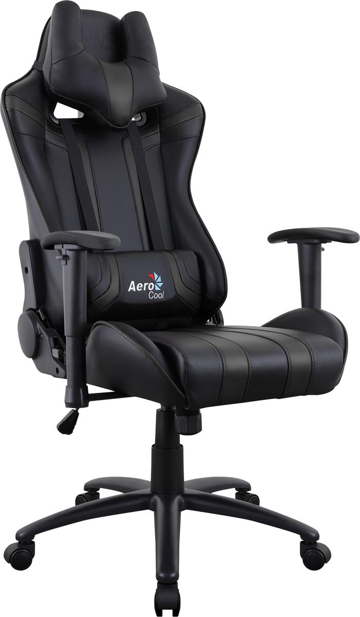 Aerocool AC120 AIR-B, Black игровое кресло516662Профессиональное геймерское кресло AC120 AIR. Игровые кресла Aerocool сочетают в себе невероятную эргономику, эффектный дизайн и могут служить в качестве комфортного офисного кресла или стать верным спутником настоящего геймеру. Даже если пользователь проводит за компьютером много часов, благодаря «дышащей» поверхности кресла он все равно будет чувствовать себя комфортно и прохладно. Уникальная технология AIR – это привлекательное пористое покрытие, нетканые материалы премиум-класса и пенный наполнитель, которые обеспечивают отличную вентиляцию. Вместе с креслом вы получите многофункциональную подушку под шею, с которой играть, читать, учиться, смотреть ТВ или просто вздремнуть – одно удовольствие. Встроенный механизм «Бабочка» позволяет наклонять спинку кресла вперёд и назад с амплитудой от 3 до 18°. Если вам комфортней сидеть на кресле с неподвижной спинкой, специальный замок в той же части кресла позволяет плотно её зафиксировать. Вам захотелось поспать 20-30 минут чтобы подстегнуть память?А ещё вы хотите восстановить силы, когнитивные способности и вернуть своё желание творить? Тогда откиньте спинку кресла на 180°, ложитесь и наслаждайтесь сном... или просто разглядывайте потолок. Эту модель по достоинству оценят игроки, которым важен оригинальный внешний вид кресла. В нём продумана каждая мелочь, от стильного спортивного дизайна до покрытой ПВХ «под углеволокно» задней части спинки. Внимание к деталям очень важно, чтобы кресло отлично смотрелось с любой стороны!