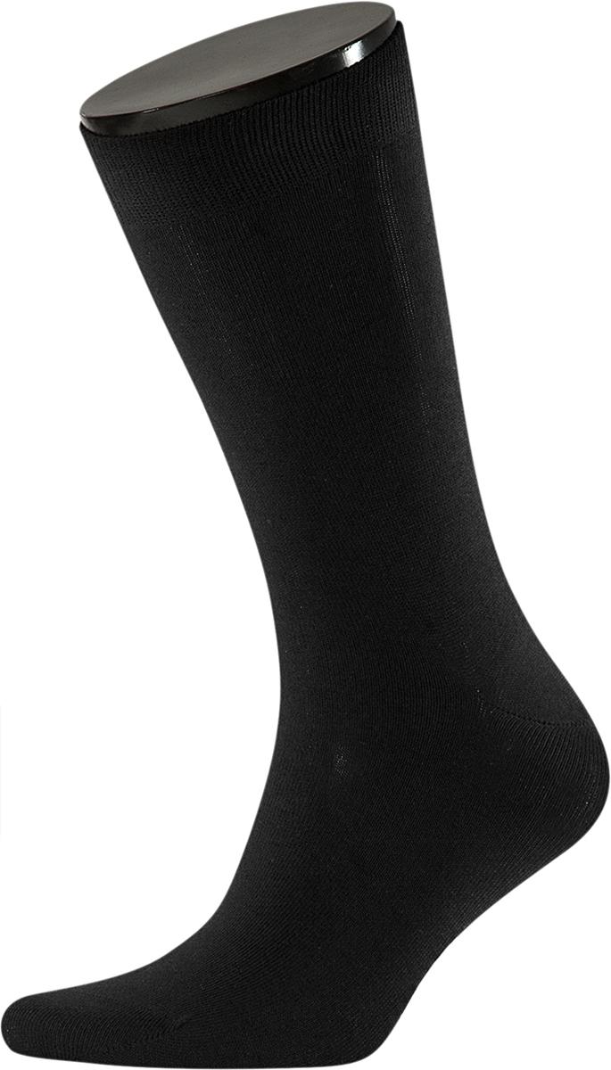 Носки мужские Teller Optima, цвет: черный. OA11300/101. Размер 39/41OA11300/101Однотонные классические носки от Teller выполнены из хлопкового трикотажа. На паголенке специальная широкая резинка, не сдавливающая ногу.