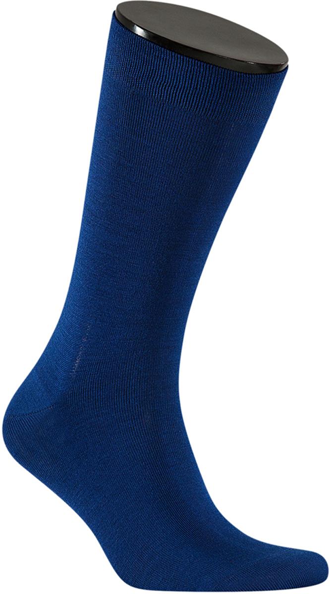 Носки мужские Teller Optima, цвет: темно-синий. OA11300/158. Размер 39/41OA11300/158Однотонные классические носки от Teller выполнены из хлопкового трикотажа. На паголенке специальная широкая резинка, не сдавливающая ногу.
