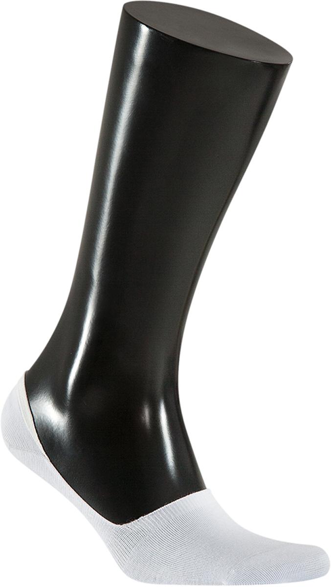 Носки мужские Teller Optima, цвет: белый. OS11000/100. Размер 38/42OS11000/100Мужские подследники из хлопкаНевидимый в обувиНеощутимый силиконовый суппорт