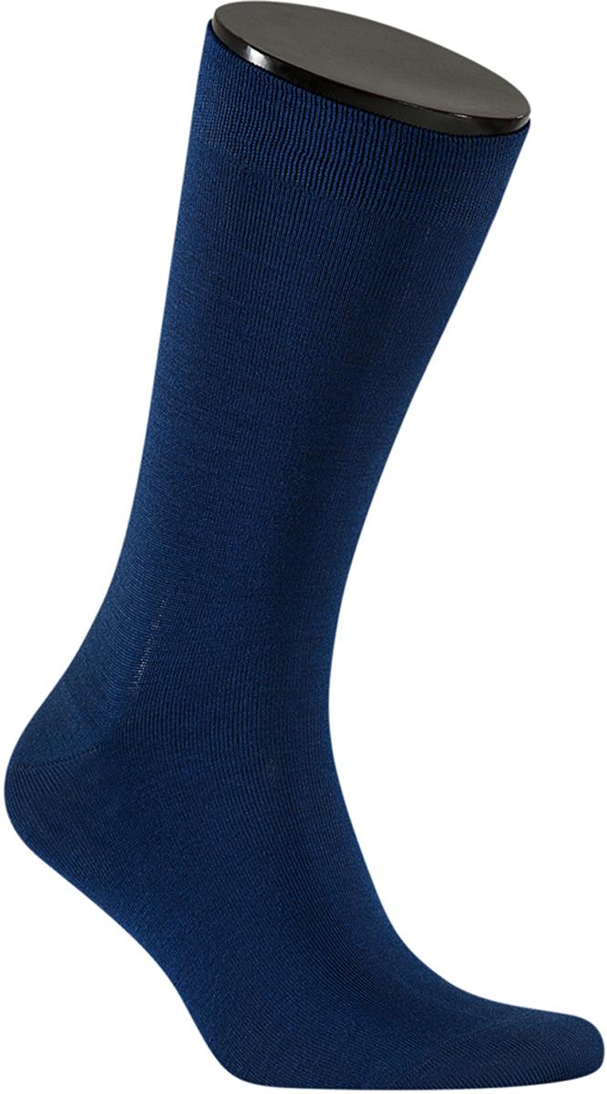 Носки мужские Teller Optima Bamboo, цвет: темно-синий. OA11302/158. Размер 39/41OA11302/158Однотонные классические носки от Teller выполнены из бамбукового трикотажа. Бамбук - мягкий и комфортный материал. На паголенке специальная широкая резинка, не сдавливающая ногу.