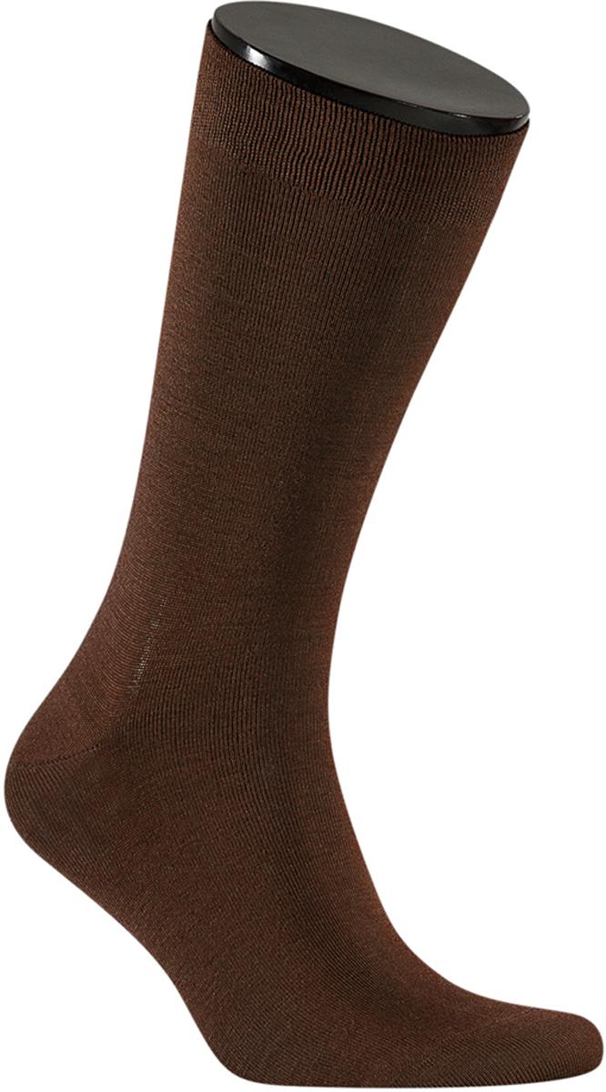 Носки мужские Teller Optima Bamboo, цвет: коричневый. OS11300/172. Размер 43/47 teller носки comfort bamboo