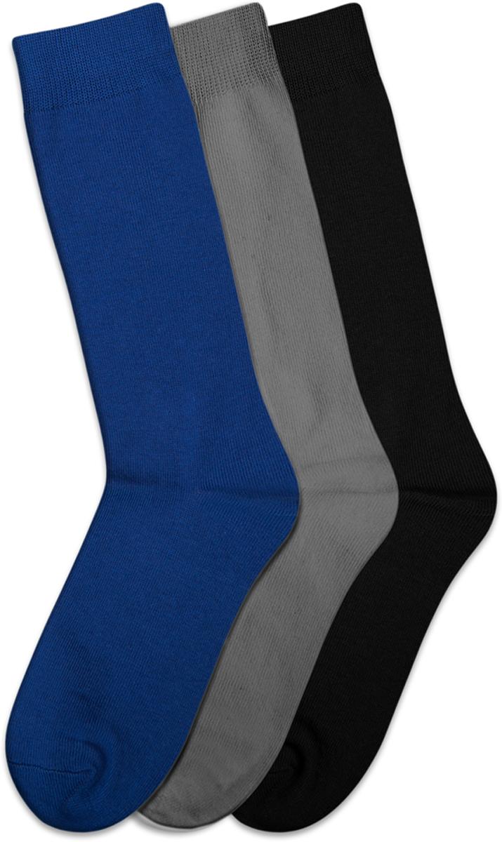 Носки для мальчиков Teller, цвет: мультиколор, 3 пары. OA33300/304. Размер 36/38OA33300/304Однотонные классические носки от Teller выполнены из хлопкового трикотажа. На паголенке специальная широкая резинка, не сдавливающая ногу. Универсальный сет для школьника, состоящий из трех пар.