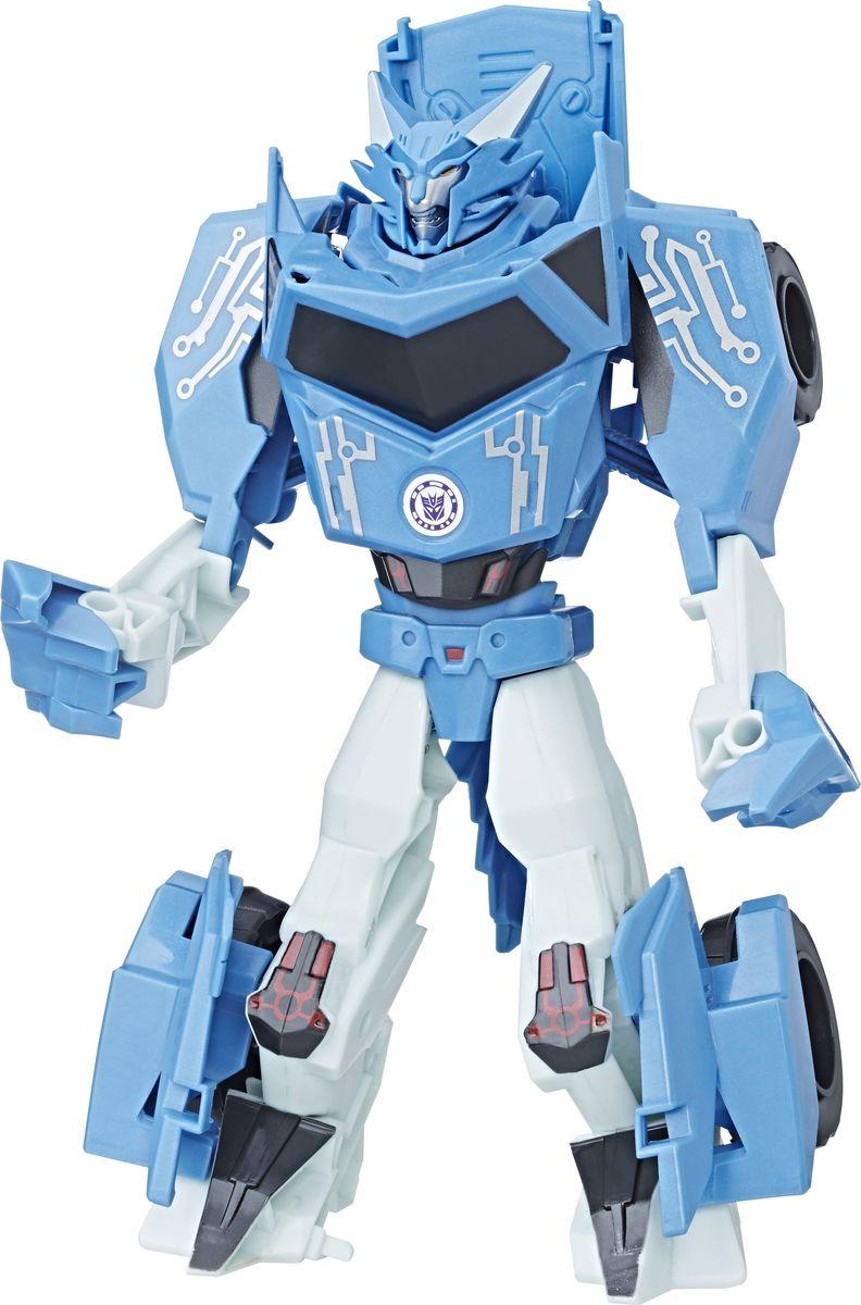 Transformers Трансформер Combiner Force Cybertron Strike Steeljaw цвет голубой серый transformers маска megatron