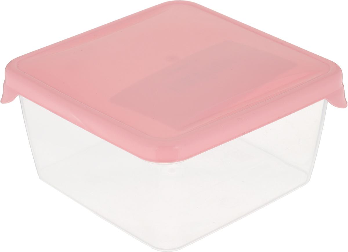 Емкость для продуктов Giaretti Браво, цвет: прозрачный, розовый, 0,45 лGR1030_прозрачный, розовый/матовыйЕмкость для продуктов Giaretti Браво изготовлена из пищевого полипропилена. Крышкаплотно закрывается, дольше сохраняя продукты свежими. Боковые стенки прозрачные, чтопозволяет видеть содержимое.Емкость идеально подходит для хранения пищи, фруктов,ягод, овощей.Такая емкость пригодится в любом хозяйстве.