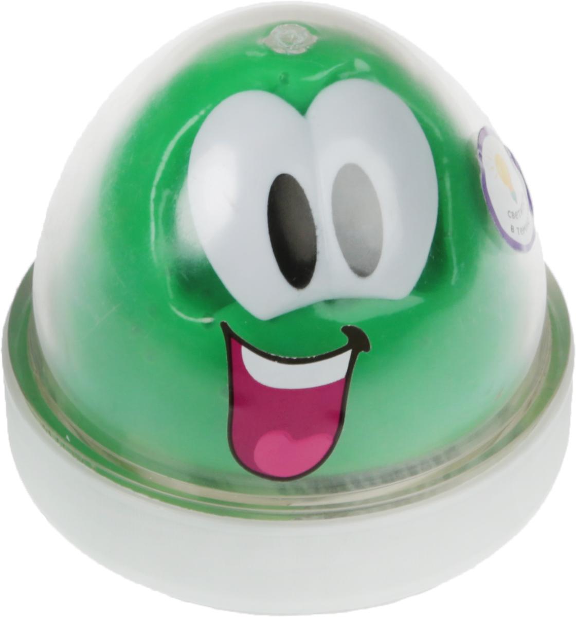 Genio Kids Пластилин для детской лепки Smart Gum светящийся в темноте цвет зеленый -  Пластилин