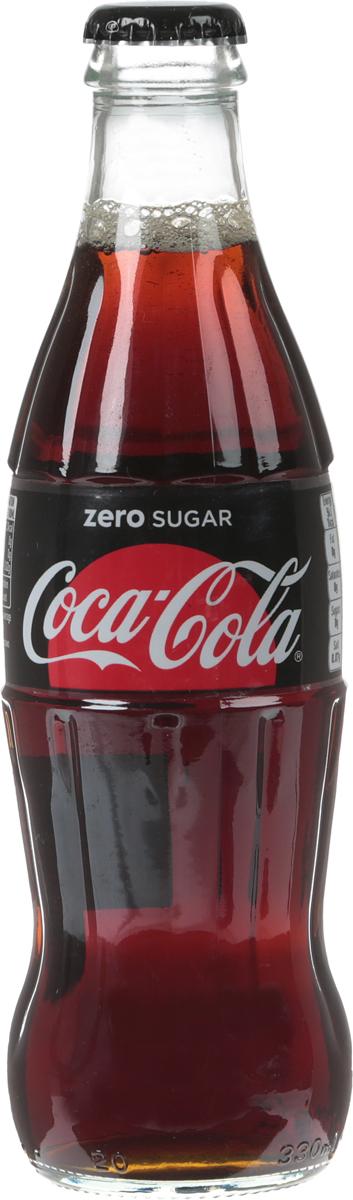 Coca-Cola Zero напиток газированный, 330 мл coca cola lime напиток сильногазированный  330 мл