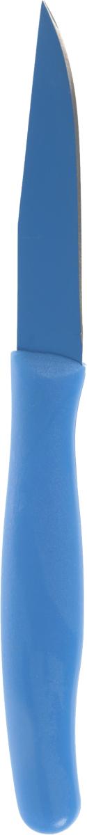 Нож кухонный Banquet, цвет: голубой, длина 19,5 см нож поварской banquet длина 17 см
