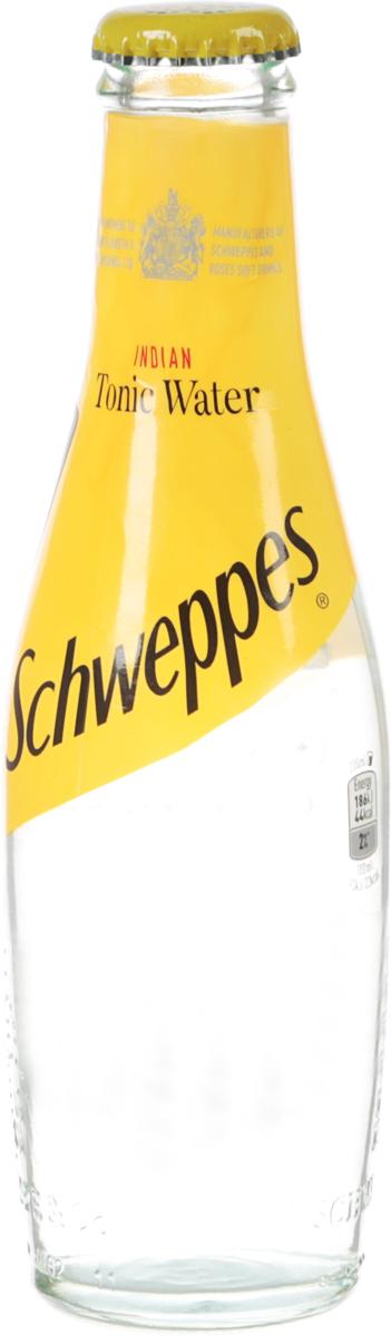 Schweppes Indian Tonic напиток газированный, 0,2 л л ореаль тоник dougeur