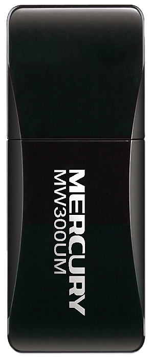 Mercusys N300 MW300UM Wi-Fi USB-адаптер адаптер upvel ua 222nu wi fi usb адаптер стандарта 802 11n 300 мбит с
