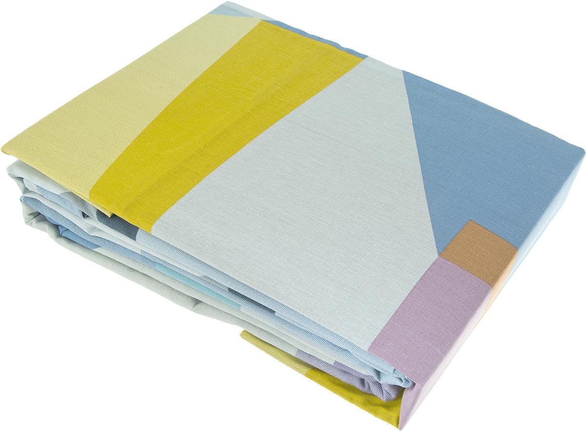 """Комплект постельного белья Самойловский текстиль """"Импрессионизм. Геометрия"""" -  это максимально натуральный, естественный комфорт и невероятно приятные тактильные  ощущения и актуальный современные дизайн.  Чрезвычайно мягкая на ощупь поверхность хлопковой ткани Cottonsoft - будто  нежный и мягкий лепесток цветка. Она имеет бархатистую структуру благодаря  использованию особого сырья и технологий при производстве. Неприхотливая в  уходе, 100% натуральная, износостойкая, но самое главное - особенно мягкая, она  безусловно понравится тем, кто любит понежиться в постели и станет отличной  альтернативой традиционным комплектам из тканей полотняной структуры."""
