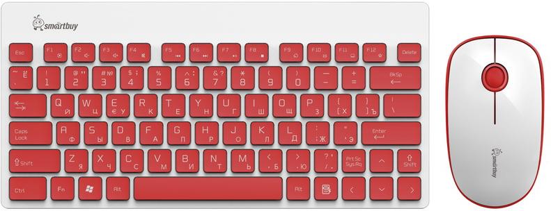 все цены на SmartBuy SBC-220349AG-RW, Red White клавиатура + мышь онлайн